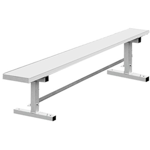 Kwik Goal 6 Foot Aluminum Bench With Out Back Arc Sports Online Store